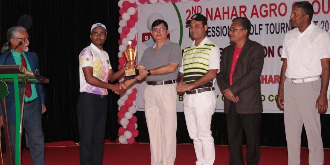 Prize Giving of 2nd Nahar Agro Professional Golf Tour 2019